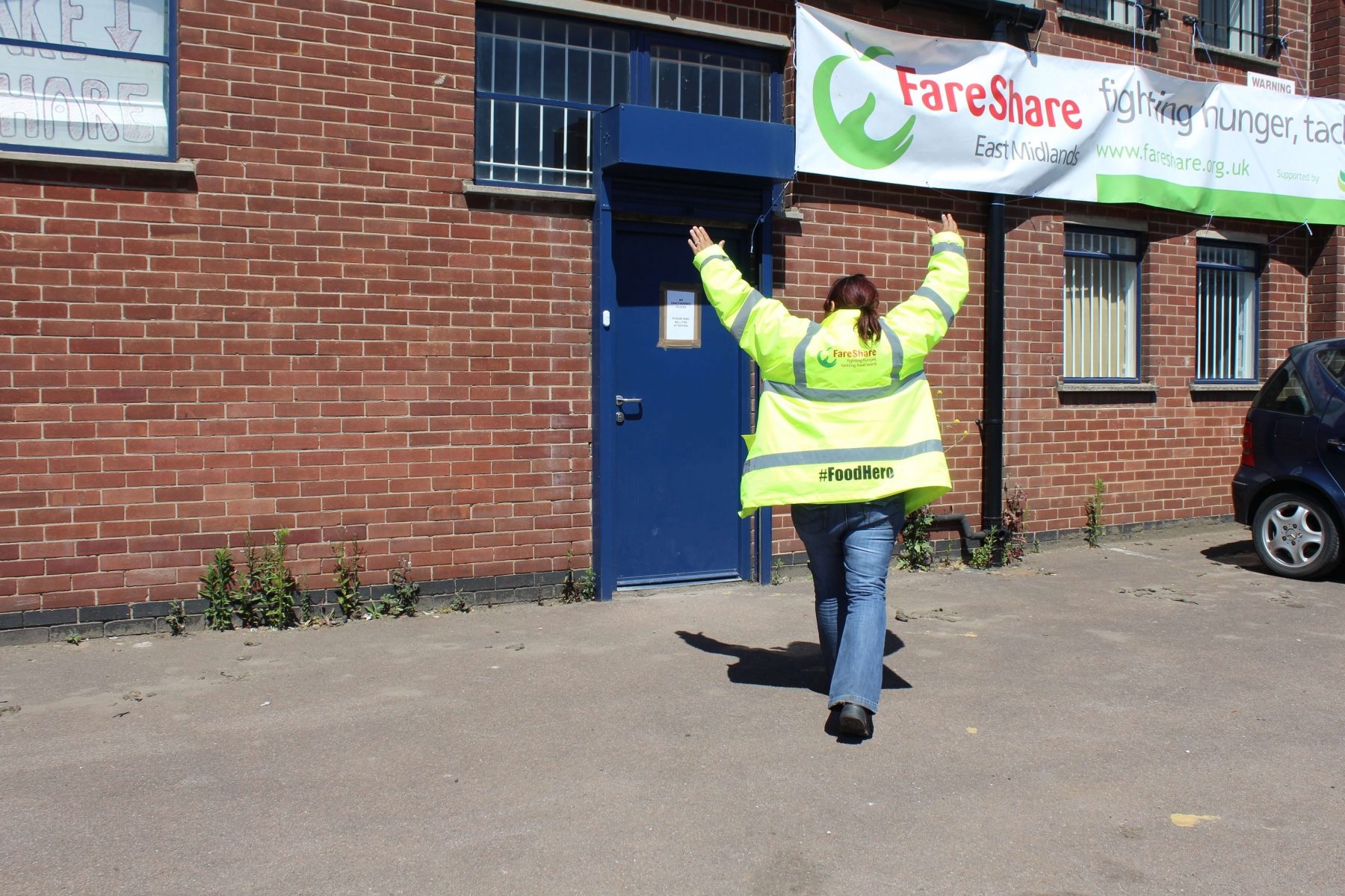 FareShare Midlands 2020 distribution figure.