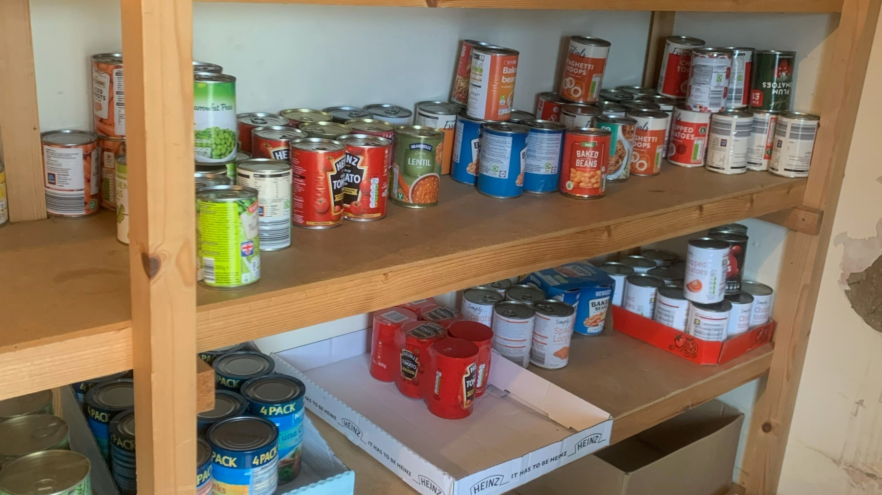 The Sutton on Sea Community Larder is Caring, Sharing and Supporting Those in Most Need with the Support of the LIncoln Food Hub